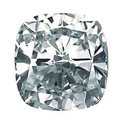Picture of 3.21 Carats, Cushion Modified Diamond with Ideal Cut, H Color, VS1 Clarity and Certified by EGS/EGL