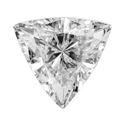 Picture of 0.16 Carats, Triangle Diamond with Very Good Cut, G Color, VS1 Clarity and Certified By Diamonds-USA
