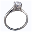 Picture of Contour style solitaire engagement ring
