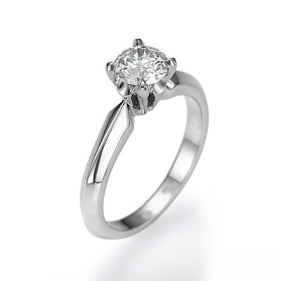 Designers 4 prongs solitaire ring
