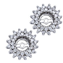 Picture of Diamond earring Jacket 0.70 carats