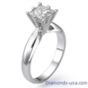 Picture of Martini solitaire engagement ring for Princess