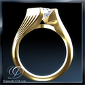 Picture of Solid Tension engagement ring