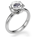Picture of The Rose, Exclusive engagement ring settings