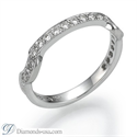 Picture of Victorian style bridal rings set, 0.90 carats