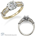 Picture of Designers Diamond Engagement ring