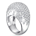Picture of Bombay diamond Cocktail designers ring