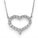 Picture of Diamonds Heart necklace