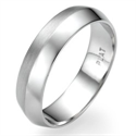 Picture of 5mm Knife edge man wedding ring