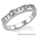 Picture of 1/3 carat wedding or Anniversary ring