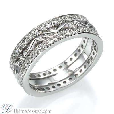 Art Deco wedding or anniversary diamond ring