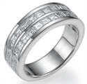 Picture of Caree diamonds wedding ring