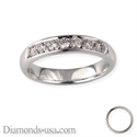 Picture of Wedding ring, 0.26 carat diamonds