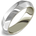 Picture of 4mm Man's Knife edge wedding ring