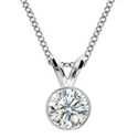 Picture of Bezel set Pendant for Round diamonds
