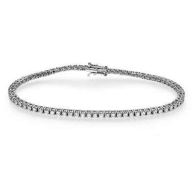2.10 carats Round Diamonds Tennis Bracelet