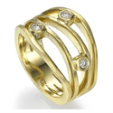 Picture of 0.12 carat anniversary ring