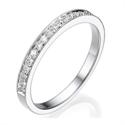 Picture of Matching band with side diamonds