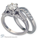 Picture of Vintage bridal rings set replica, designers line