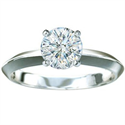 Picture of 3mm knife edge engagement ring