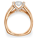 Picture of Designers heavy engagement ring, Like tension