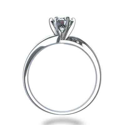 Diverting engagement ring for all shapes