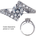 Picture of Embraced by Diamonds Ring, 1/3 carat