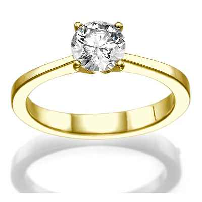 The Beauty, Solitaire engagement ring