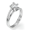 Picture of The Omega diamond engagement ring