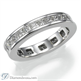 Picture of Eternity ring,2.06 carats Princess diamonds
