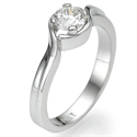 Picture of Custom made engagement ring