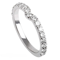 Picture of Notch diamonds wedding ring