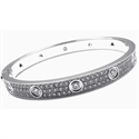 Picture of bangle 4 carats 18 cm