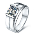 Picture of Men diamond ring