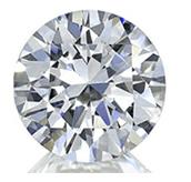 Picture of round cut diamond