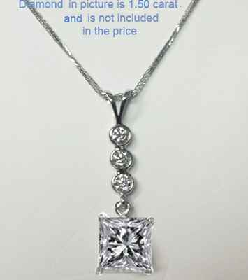 1/3 carat diamonds, all shapes Pendant