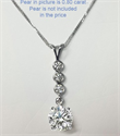 Picture of 1/3 carat diamonds, all shapes Pendant