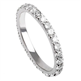 Picture of 1 carat Round diamonds wedding eternity band