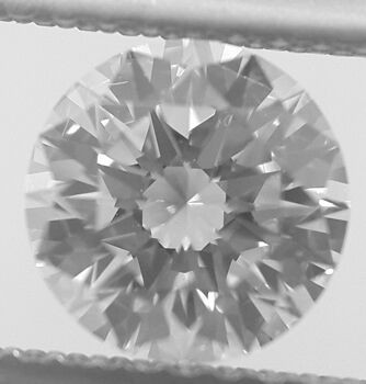 Picture of 0.7 Carats, Round Diamond with Ideal Cut, D Color, SI1 Clarity and Certified By EGL