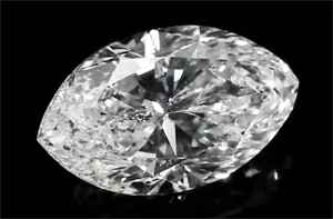 Picture of 1.06 Carats, Marquise Diamond with Very Good Cut Ideal shape, G Color, SI2 Clarity and Certified By IGL