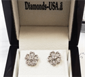 Picture of 0.50 Carat Heart designers earrings,