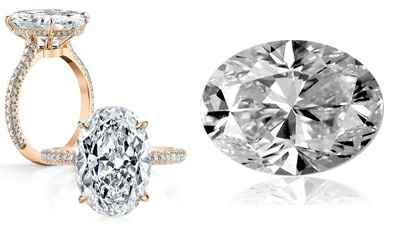 Pictures of oval shape diamonds