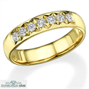 Picture of 1/3 carat 4.5mm wedding band