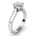 Picture of The new Criss Cross Solitaire engagement ring