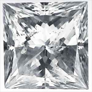 Picture of 2.05 Carats, Princess Diamond with Very Good Cut, F Color, SI1 Clarity and Certified By EGS/EGL