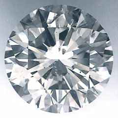 Picture of 0.64 Carats, Round Diamond with Ideal Cut, JColor, SI2 Clarity and Certified By IGL