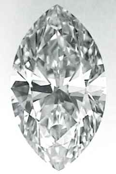 Picture of 0.7 Carats, Marquise Diamond with Very Good Cut, I Color, VS1 Clarity and Certified By EGL