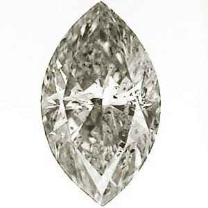 Picture of 0.77 Carats, Marquise Diamond with Ideal Cut, I Color, SI2 Clarity and Certified By IGL