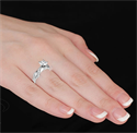 Picture of Designers, Diamonds Ribbon engagement ring