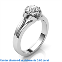 Picture of The nest solitaire vintage engagement ring